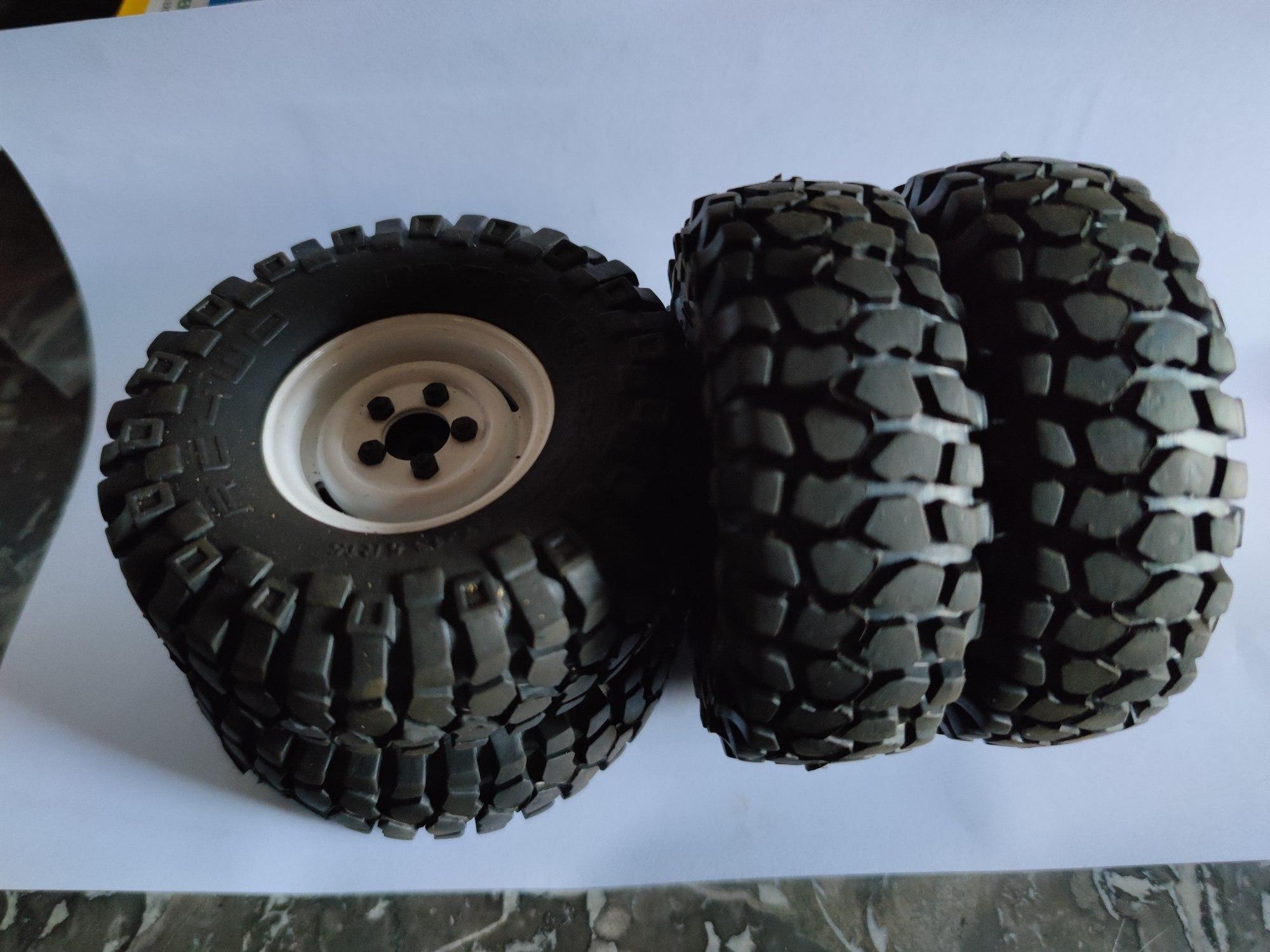 """[VENDS] 4 roues complètes RC4WD en 1,55"""" (Scale/crawler) 16265413"""