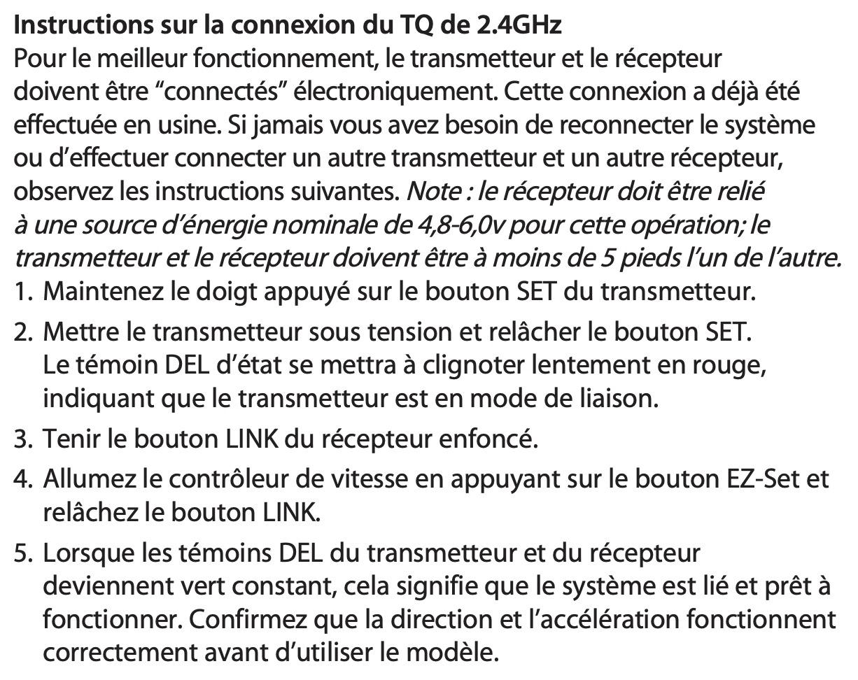 Problème de désynchronisation de Variateur Traxxas XL-5 et la télécommande TQ sur le traxxas slash Captu159