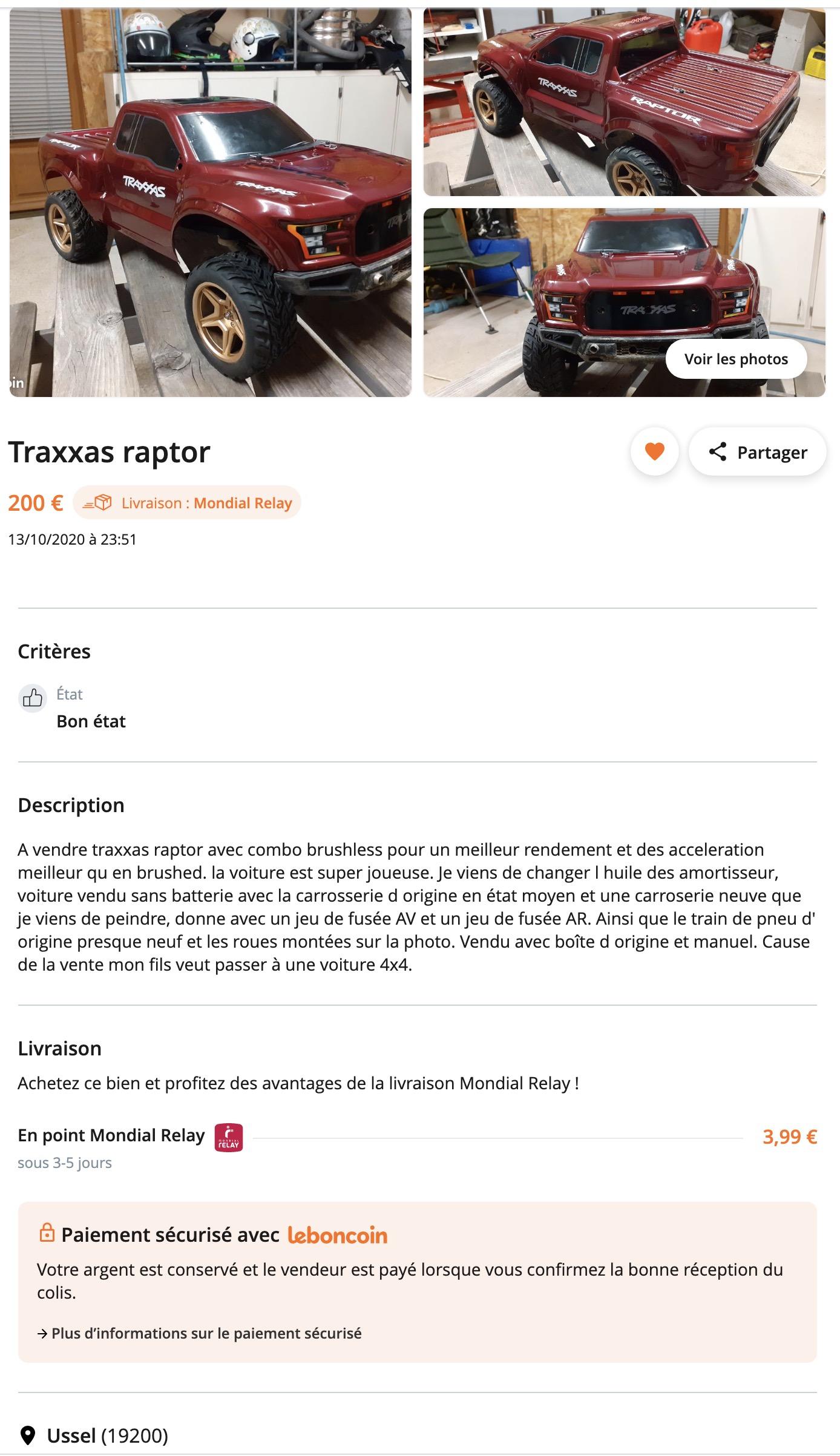 [LBC] Traxxas Slash Raptor. Captu201