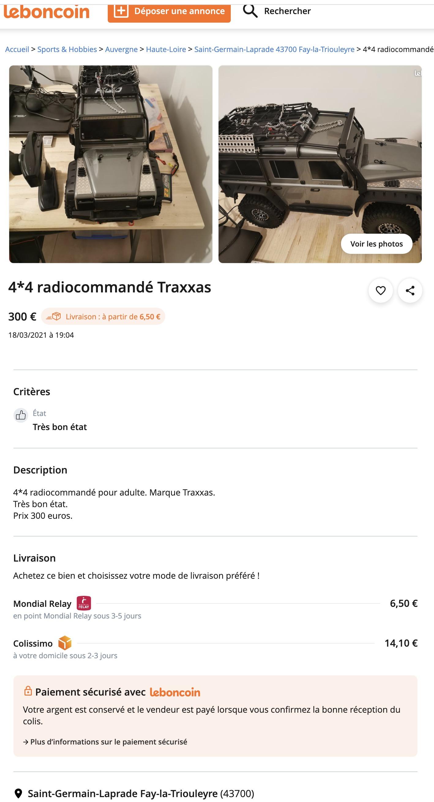 [LBC] Traxxas TRX4... Captu256