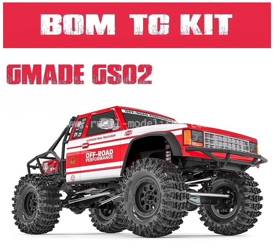 GMade BOM trail truck GS02 en kit GM57000 Captur27