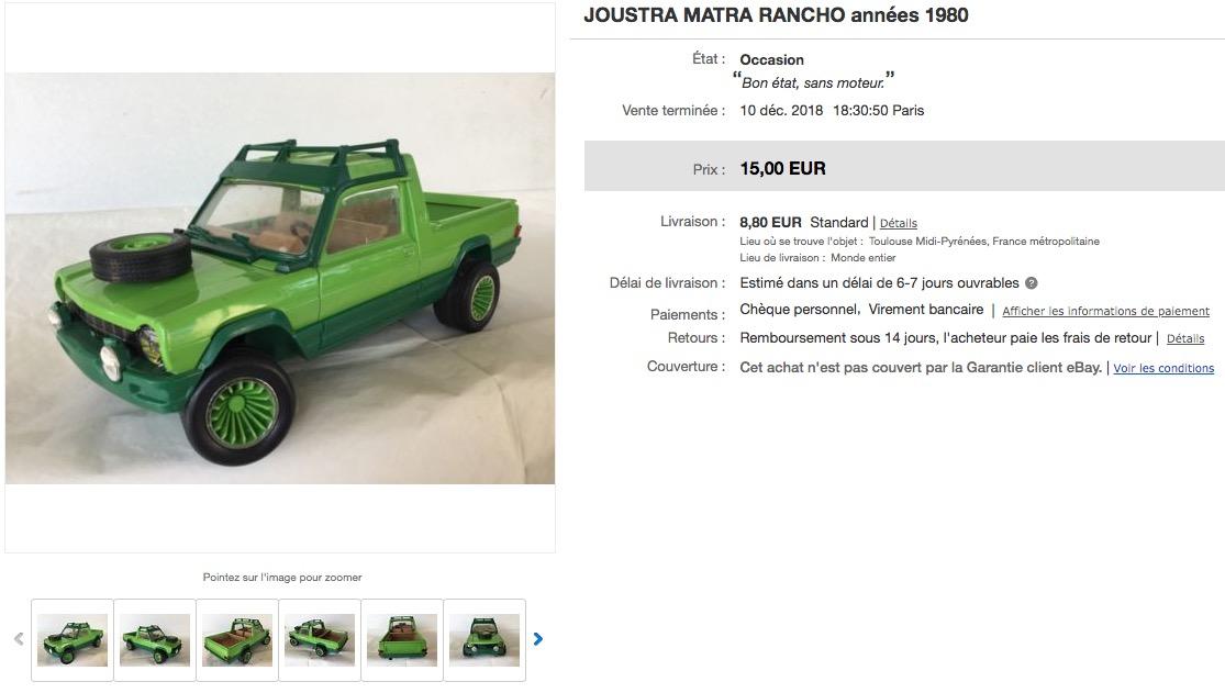 Carro sympa sur eBay : Joustra Matra 1/14 Captur67