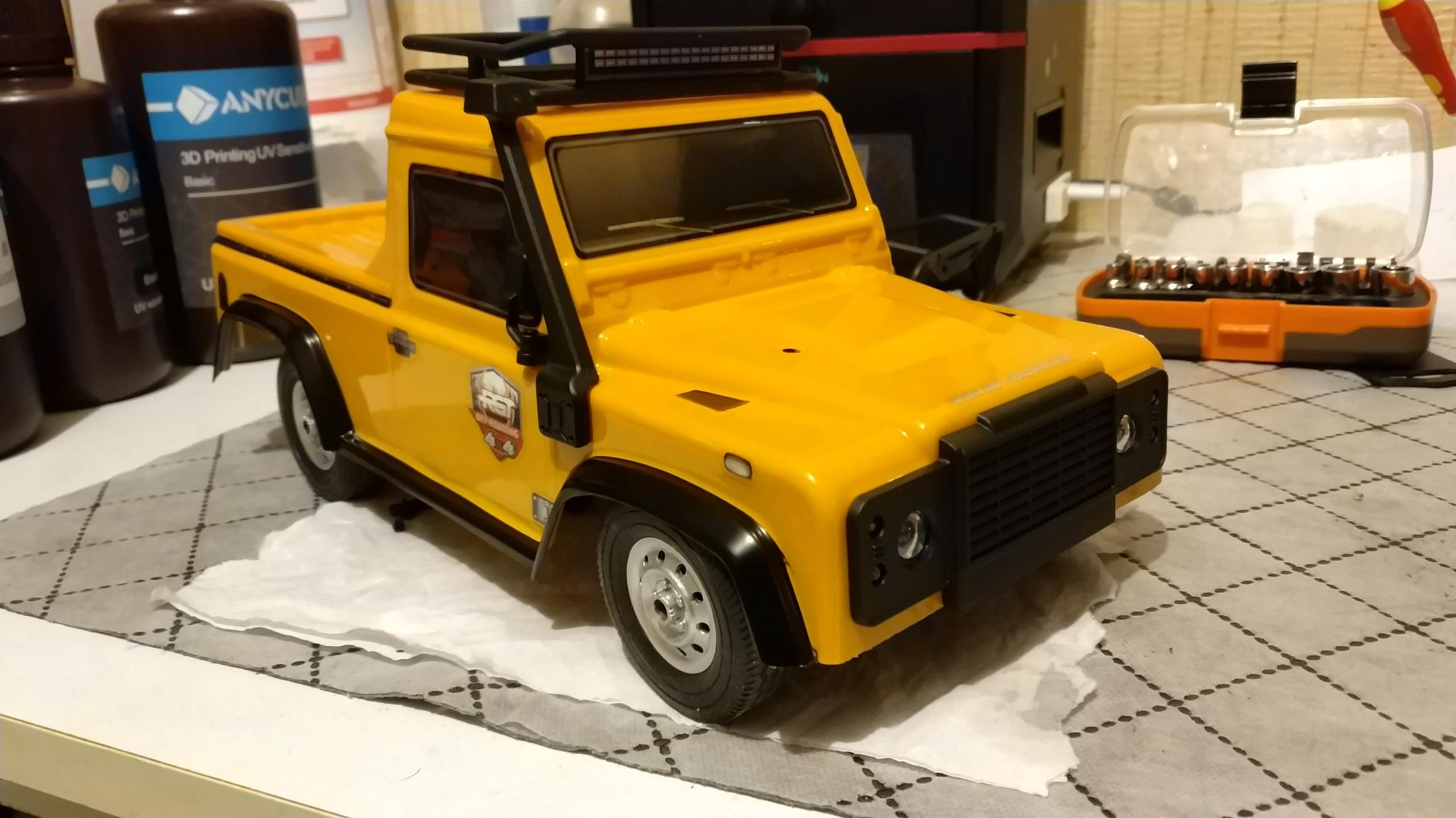 Un énorme camion de plus, le WPL D12 Suzuki Carry 1/10... - Page 2 Img_2747