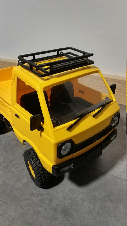 Un énorme camion de plus, le WPL D12 Suzuki Carry 1/10... - Page 3 Img_2850