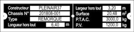 Fabrication de remorque double essieux fait maison tout en alu - Page 2 Pt14_l10