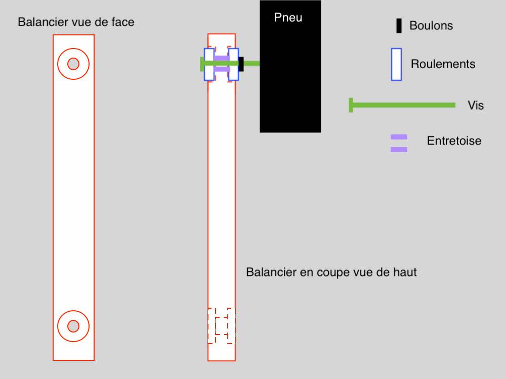 Fabrication remorque plateau à suspension ou balancier - Page 2 Schema13