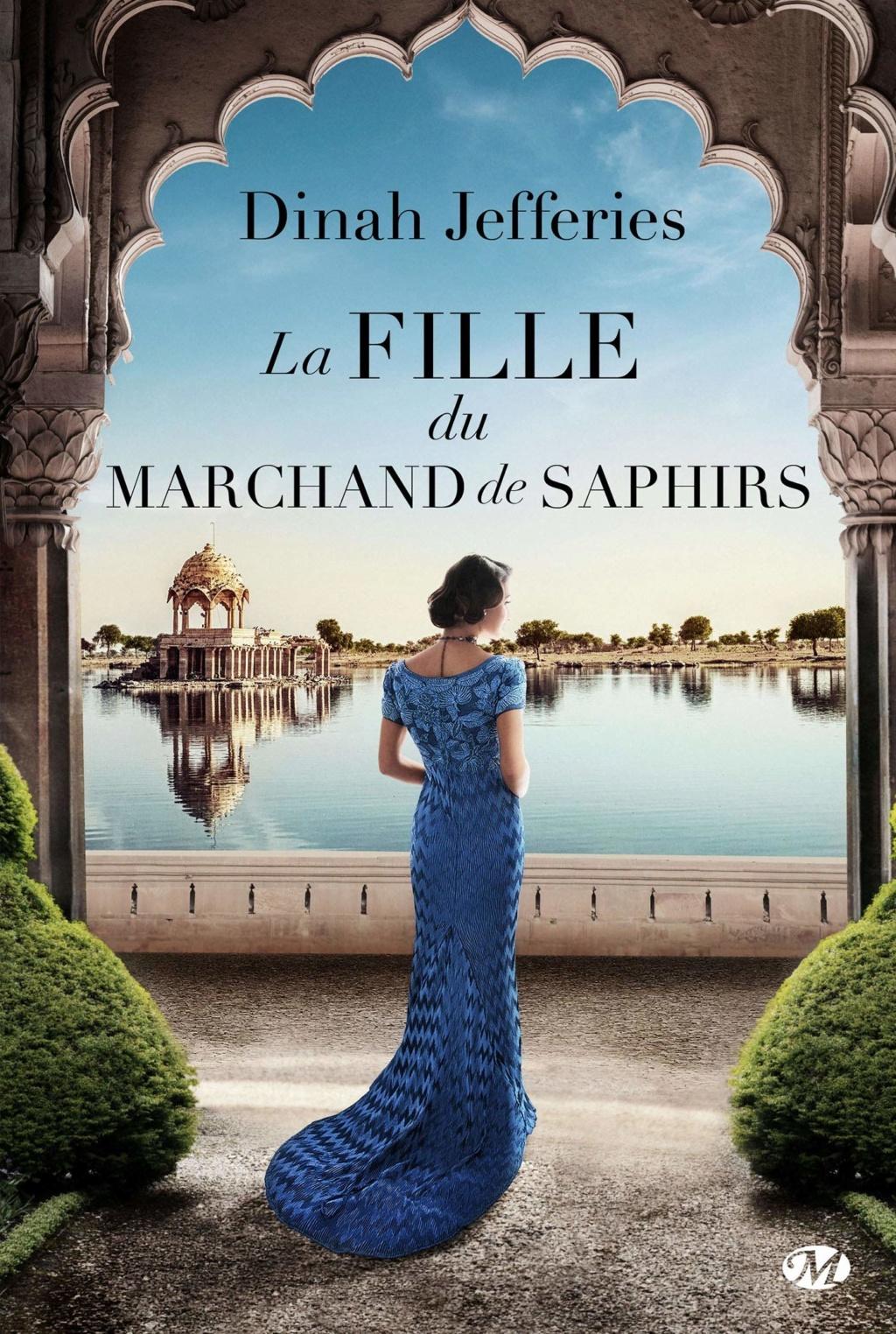 JEFFERIES Dinah - La fille du marchand de saphirs 81m7nc10