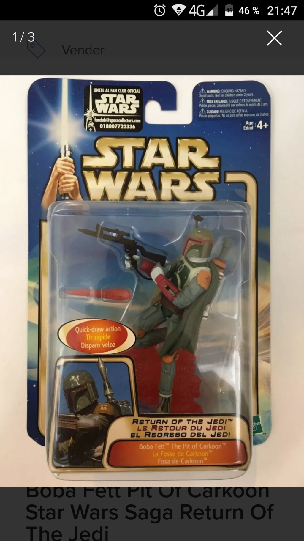 Wanted: Boba Fett saga trilogo. Screen10