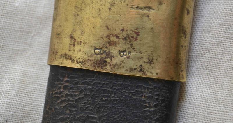 Les marquages d'un sabre Briquet An XI An11-p12