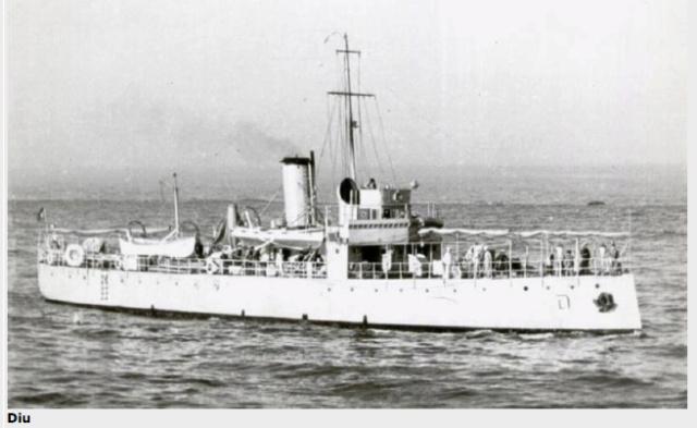 Modèle perso en papier, canonnière portugaise de 1910 : la Beïra 1/250e Diu_cl10