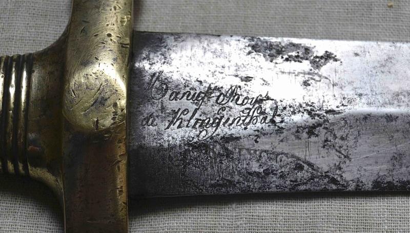 Un sabre de troupe à pied Mle 1831 Glaive15