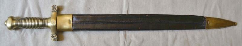 Un sabre de troupe à pied Mle 1831 Glaive26