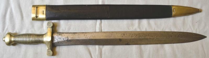 Un sabre de troupe à pied Mle 1831 Glaive27