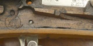 Présentation d'un fusil 1822 T bis Marque12