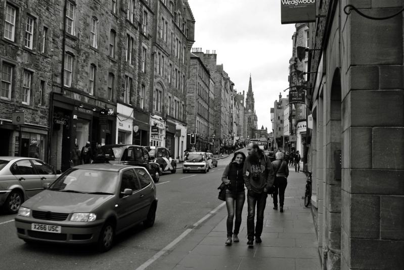 Sur le Royal Mile à Edimbourg P1120710