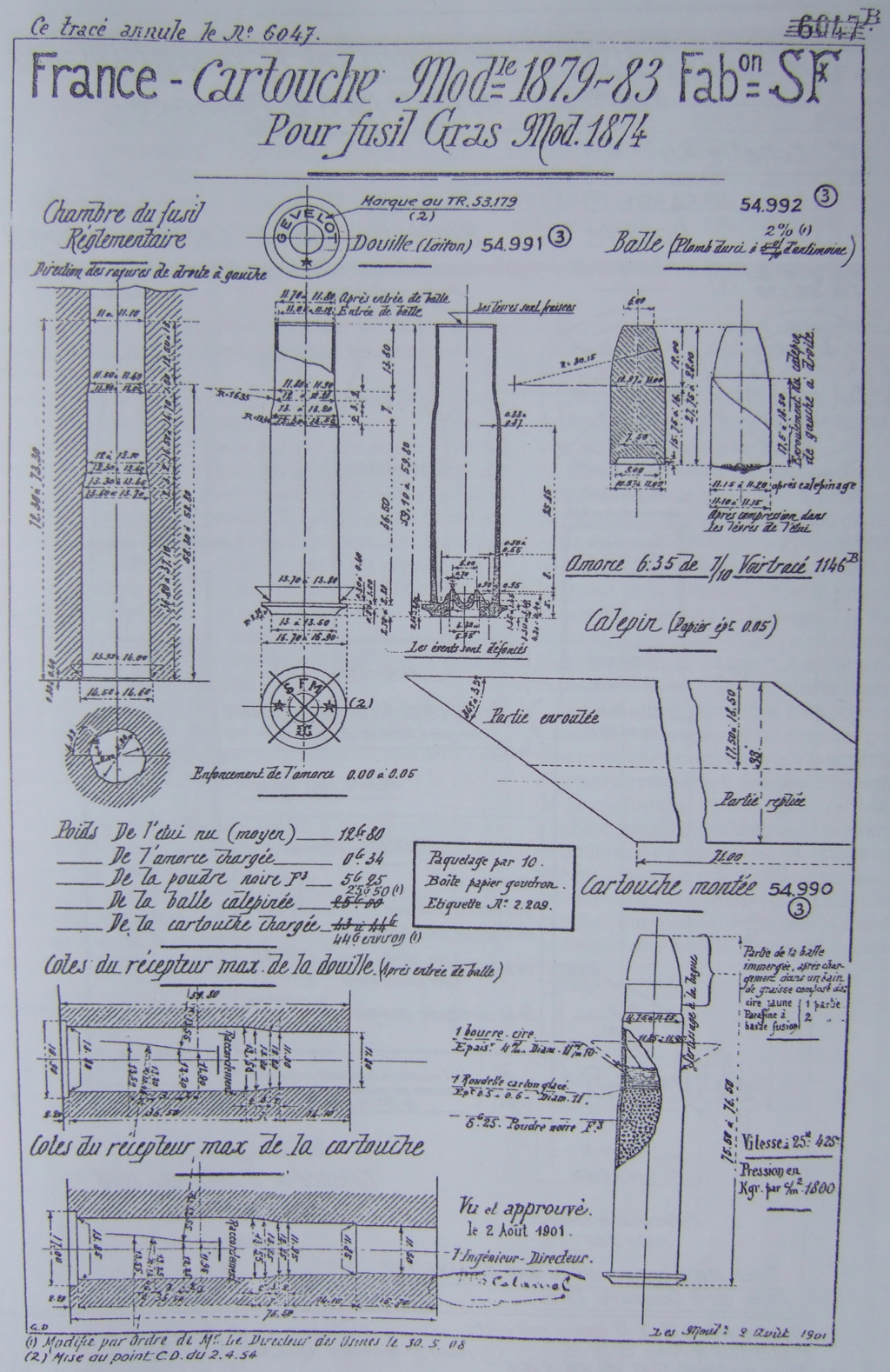 Quelles balles pour 11mm Mauser ? 11gras10