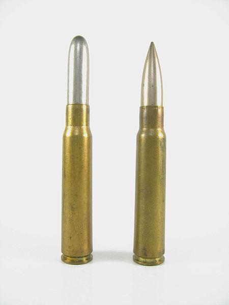 Le calibre des canons du Gewehr et de la carabine 88 8x57i-11