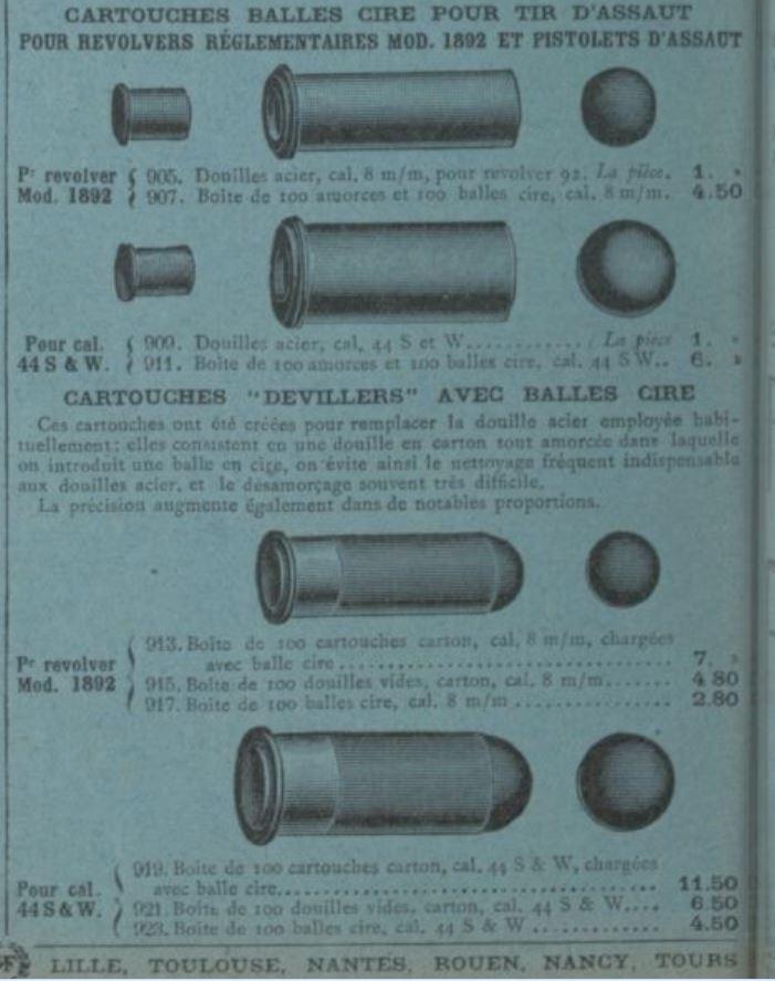 """Quelle catégorie pour les """"pistolets d'assaut"""" ? Devill10"""