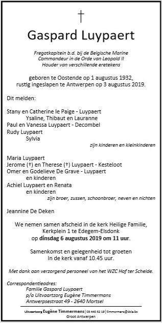 Déces - Overlijden (2) - Page 65 67848810