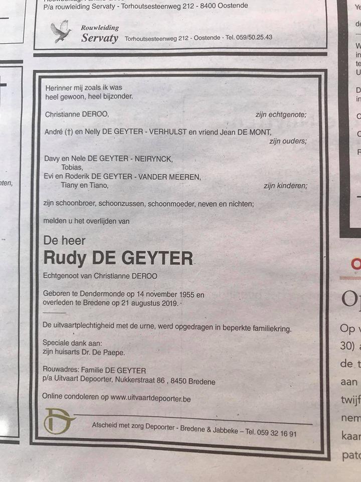 Déces - Overlijden (2) - Page 2 69205610