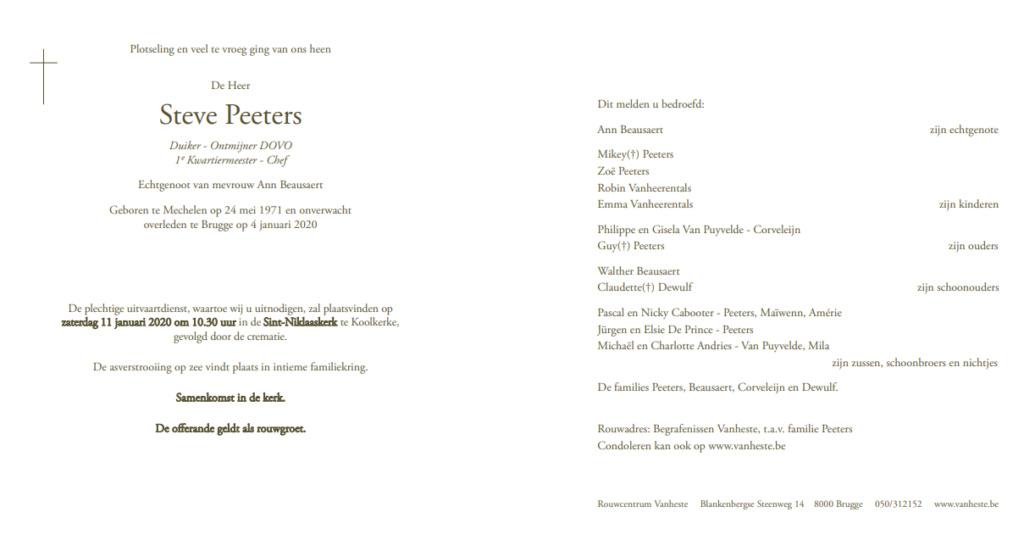 Déces - Overlijden (2) - Page 6 Steve10