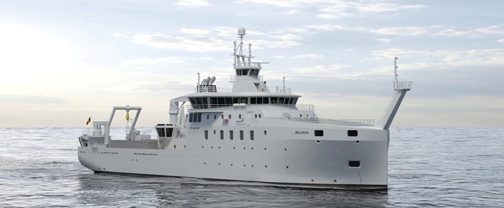 New Federal Research Vessel BELGICA Theme210