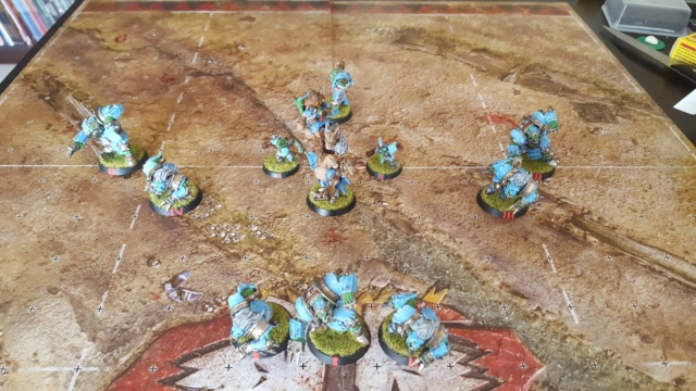 [Peinture] [Blood Bowl] Sauce Cysterion Pitch_10