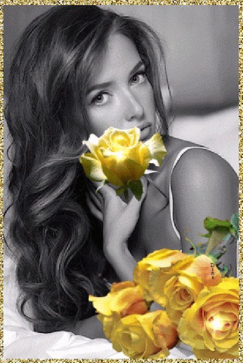 ألبوم صور ملكات جمال الورد والزهور بنات جميلات خلفيات للتصميم - صفحة 5 1b300210