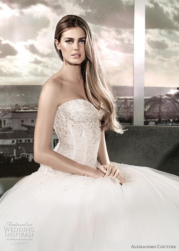 مجموعة كبيرة من  فساتين الزفاف الفرنسيه 2012 _2013 روعة وصور غاية فى الجمال Alessa10
