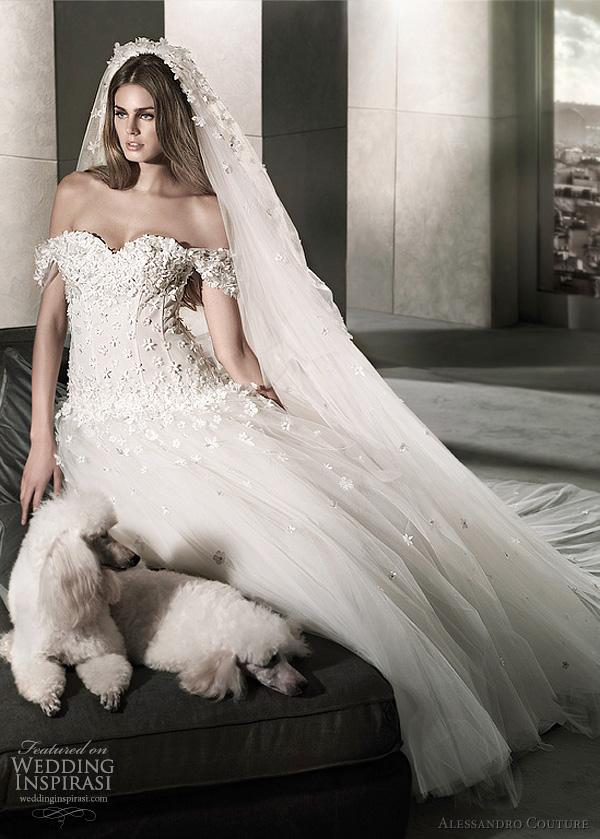 مجموعة كبيرة من  فساتين الزفاف الفرنسيه 2012 _2013 روعة وصور غاية فى الجمال Alessa11