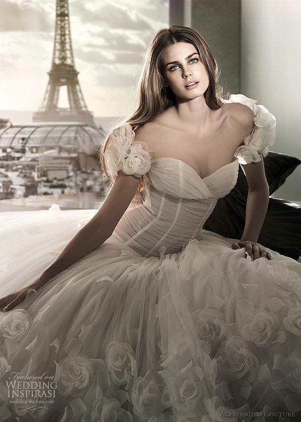 مجموعة كبيرة من  فساتين الزفاف الفرنسيه 2012 _2013 روعة وصور غاية فى الجمال Alessa12