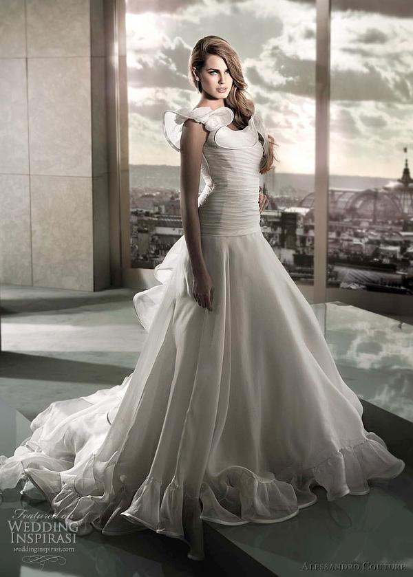 مجموعة كبيرة من  فساتين الزفاف الفرنسيه 2012 _2013 روعة وصور غاية فى الجمال Alessa14