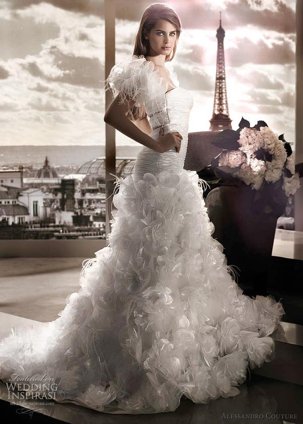 مجموعة كبيرة من  فساتين الزفاف الفرنسيه 2012 _2013 روعة وصور غاية فى الجمال Alessa15