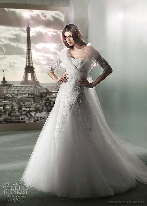 مجموعة كبيرة من  فساتين الزفاف الفرنسيه 2012 _2013 روعة وصور غاية فى الجمال Alessa19