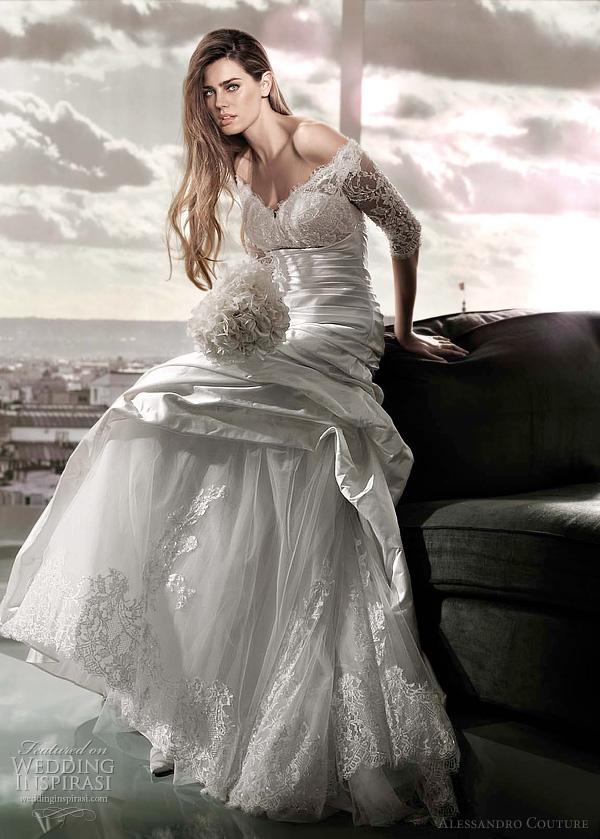 مجموعة كبيرة من  فساتين الزفاف الفرنسيه 2012 _2013 روعة وصور غاية فى الجمال Alessa20