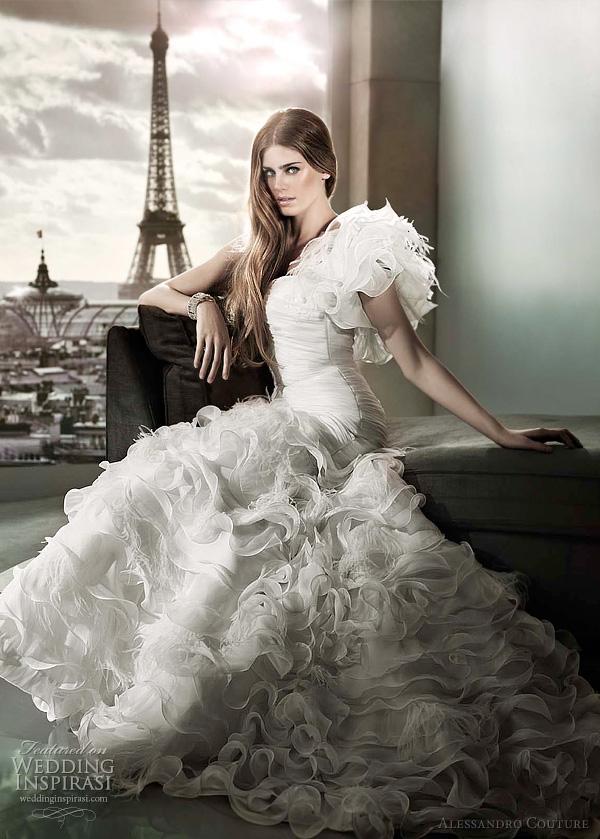 مجموعة كبيرة من  فساتين الزفاف الفرنسيه 2012 _2013 روعة وصور غاية فى الجمال Alessa23