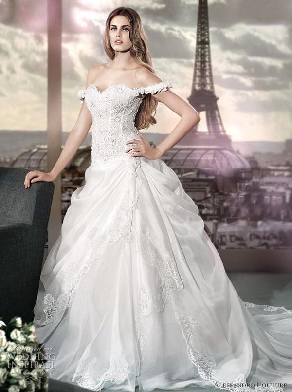 مجموعة كبيرة من  فساتين الزفاف الفرنسيه 2012 _2013 روعة وصور غاية فى الجمال Alessa24
