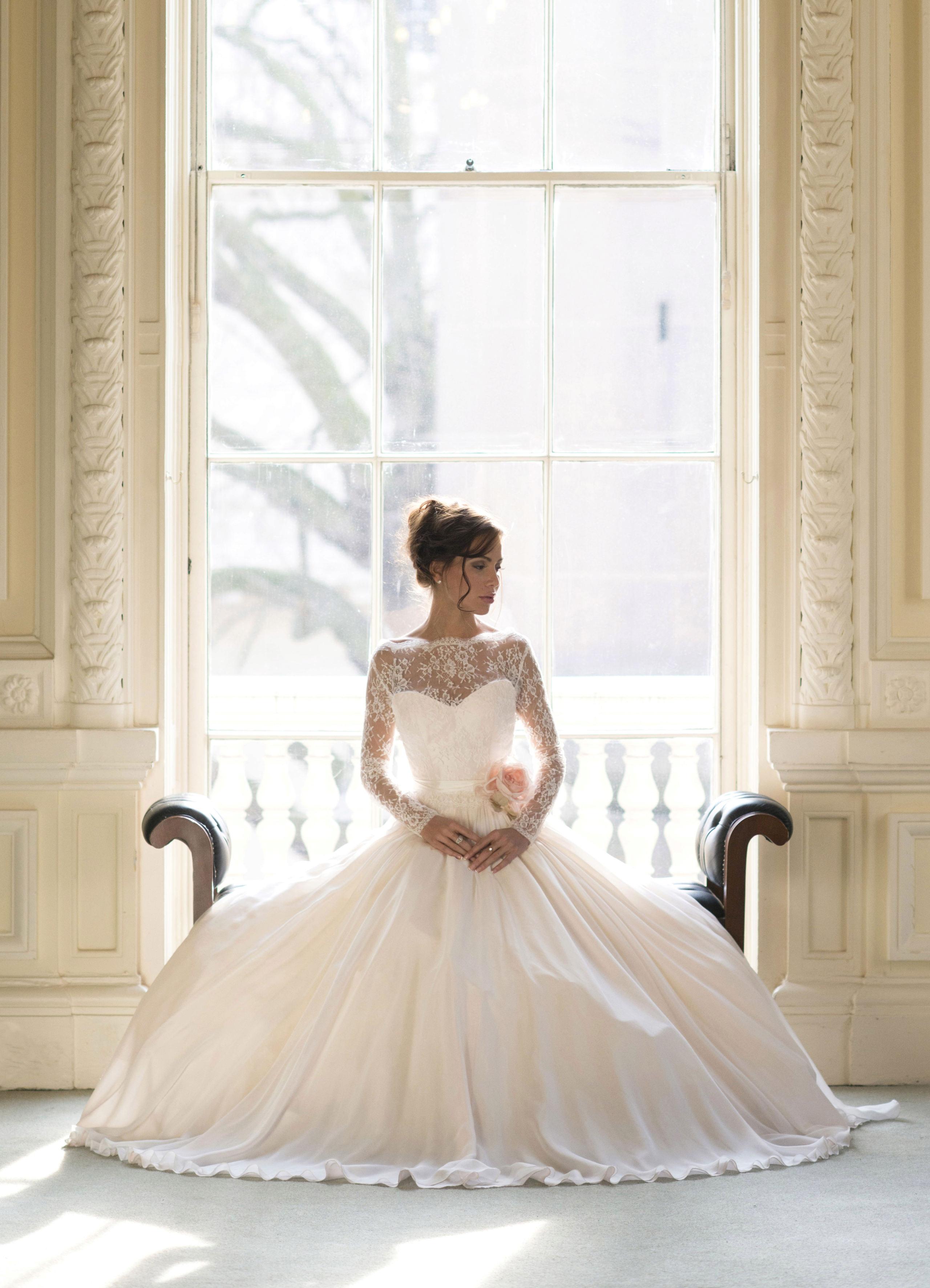 مجموعة فساتين زفاف متنوعة P_151223