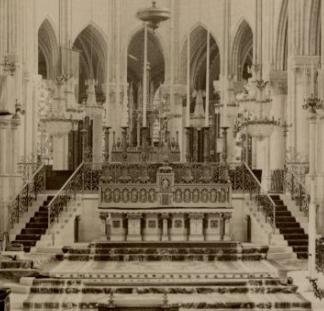 L'autel majeur de l'abbatiale Basili10