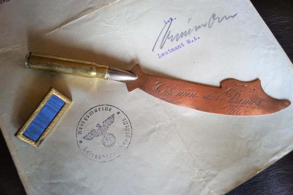 Doc allemand, barrette et artisanat de tranché Dsc02411