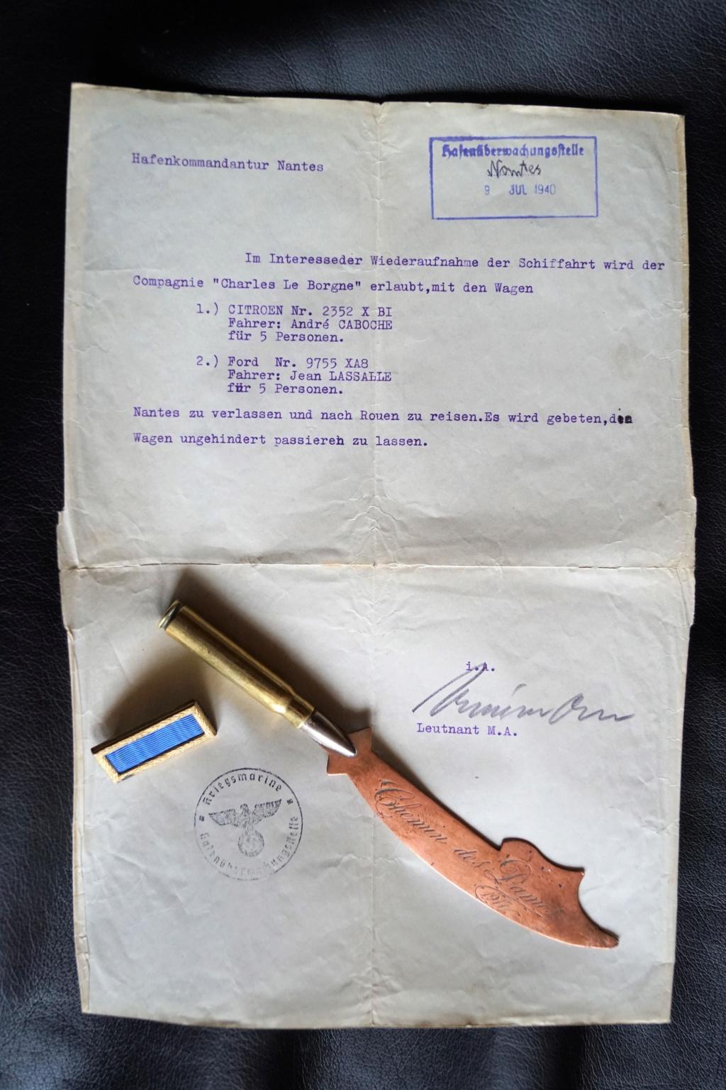 Doc allemand, barrette et artisanat de tranché Dsc02412