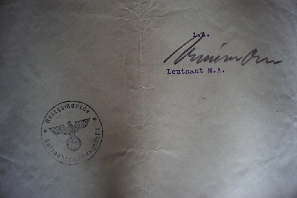 Doc allemand, barrette et artisanat de tranché Dsc02413