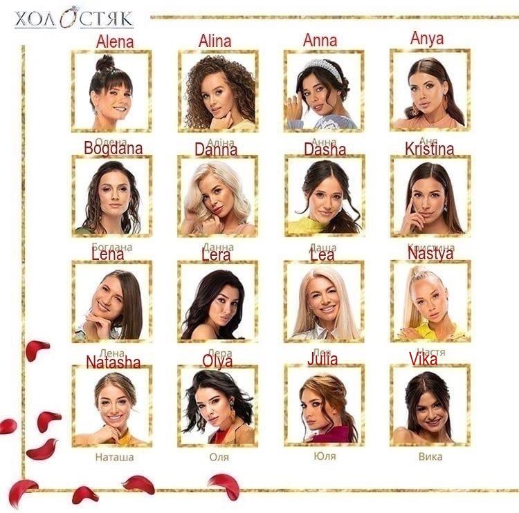 Bachelor Ukraine - Season 10 - Max Mihailuk - Contestants  - *Sleuthing Spoilers* Aeivtl10
