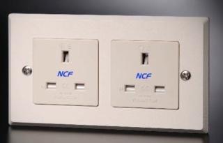 Furutech FP-1363-D NCF High End Performance Duplex UK Mains Socket(NEW) Fp-13611