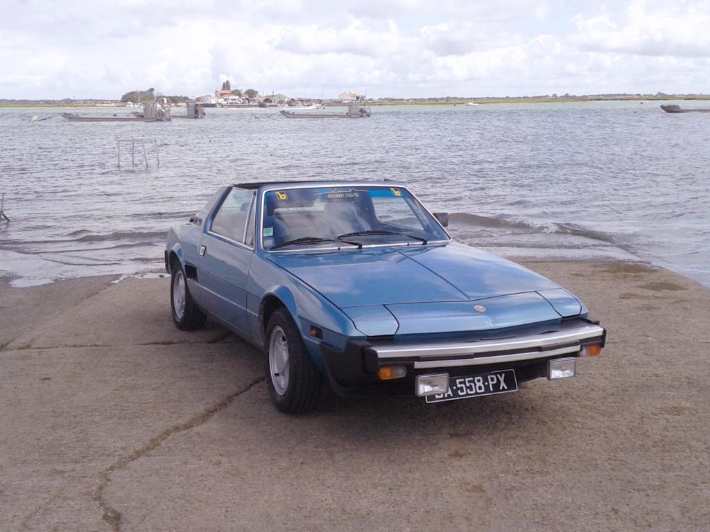 vends FIAT X1/9 1981  80.000 km Cd5810