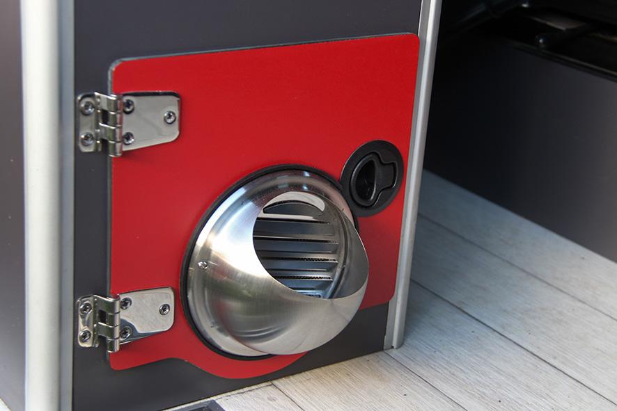 Déflecteur air chaud pour chauffage stationnaire Mess_810