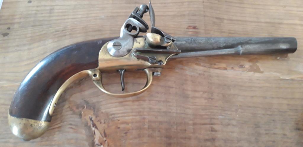 identification marquages pistolet 1777 deuxième modèle 20200913