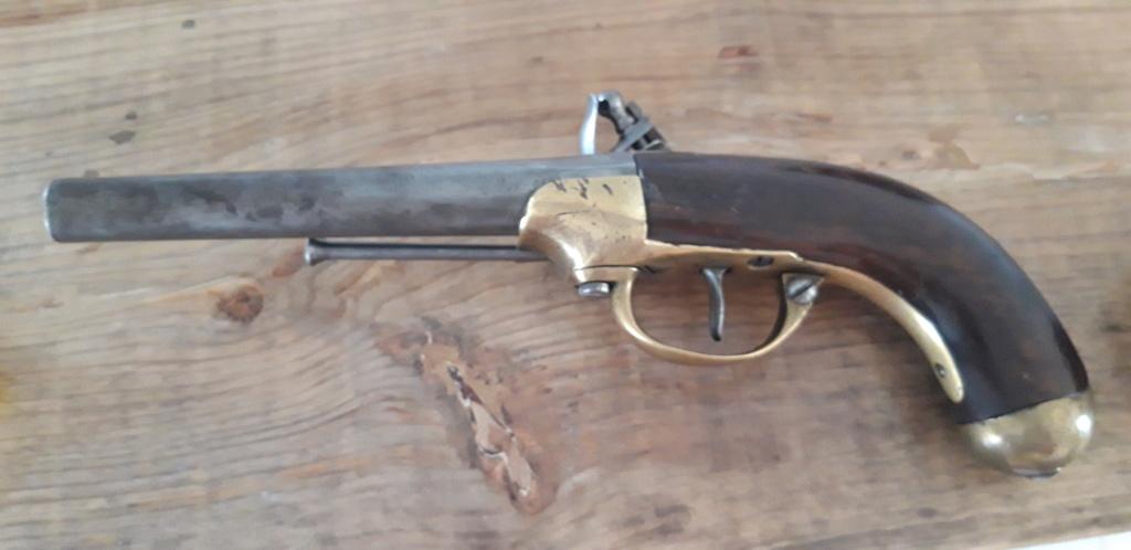 identification marquages pistolet 1777 deuxième modèle 20200915