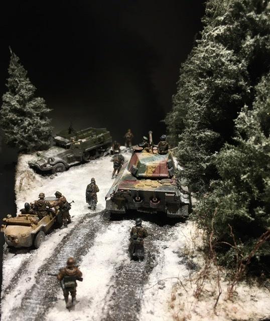 Koenigstiger dans les Ardennes le 22 décembre 1944 1/72 0fa51210