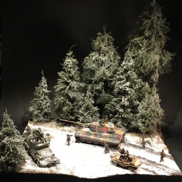 Koenigstiger dans les Ardennes le 22 décembre 1944 1/72 1038a210